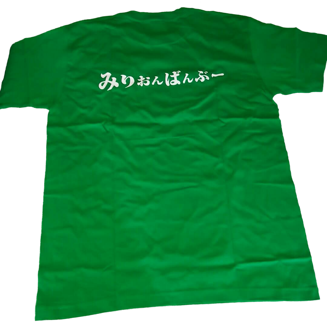 ユニフォームTシャツ裏